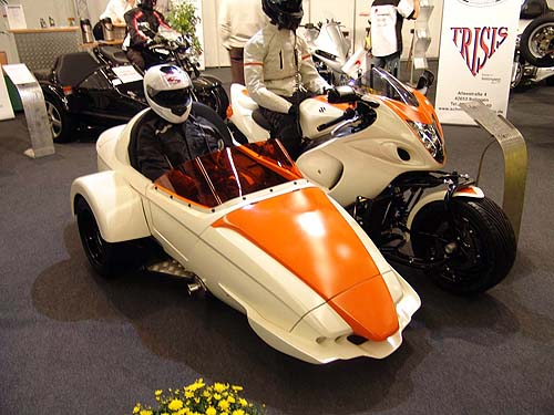 suzuki gsxr 1300 hayabusa 2008 K8 trike sidecar intermot 2008