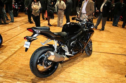suzuki gsxr 600 2008 K8
