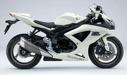 suzuki gsxr 600 2009 K9