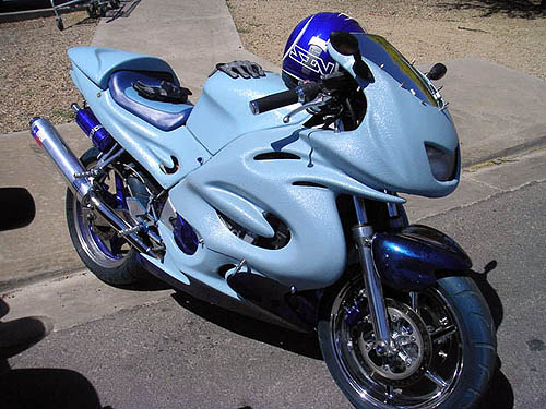 moto suzuki gsxr carenado hornet