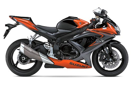 suzuki gsx-r 750 2008 k8 orange black