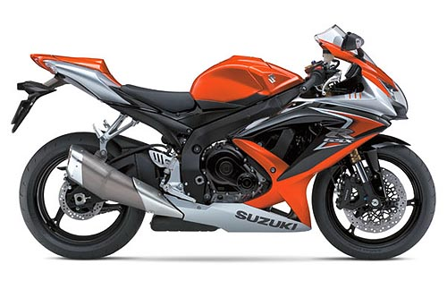 suzuki gsx-r 600 2008 k8 orange gray