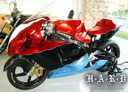 Suzuki GSXR Hayabusa Cromada de Hard Lifestyle