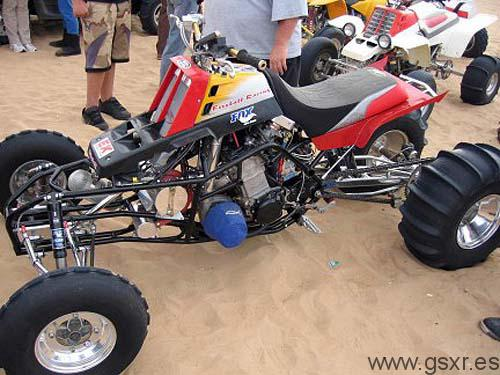 Quad Hillbilly Busa Nitrous Turbo