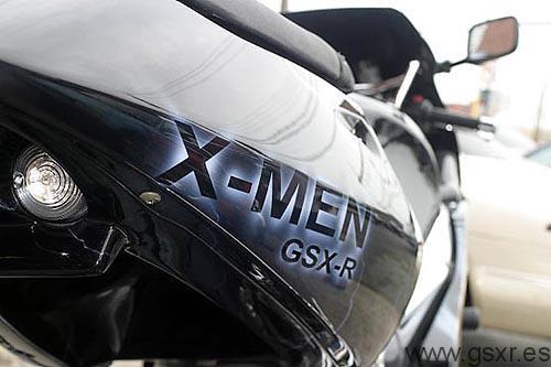 Suzuki GSXR 750 X-Men