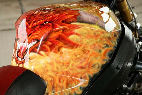 suzuki gsx-r streetfighter dragon