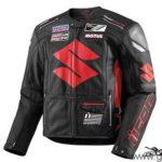 Cazadora moto ICON Victory Suzuki Negra