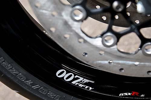Suzuki GSX-R 750 2009 James Bond 007 Fifty