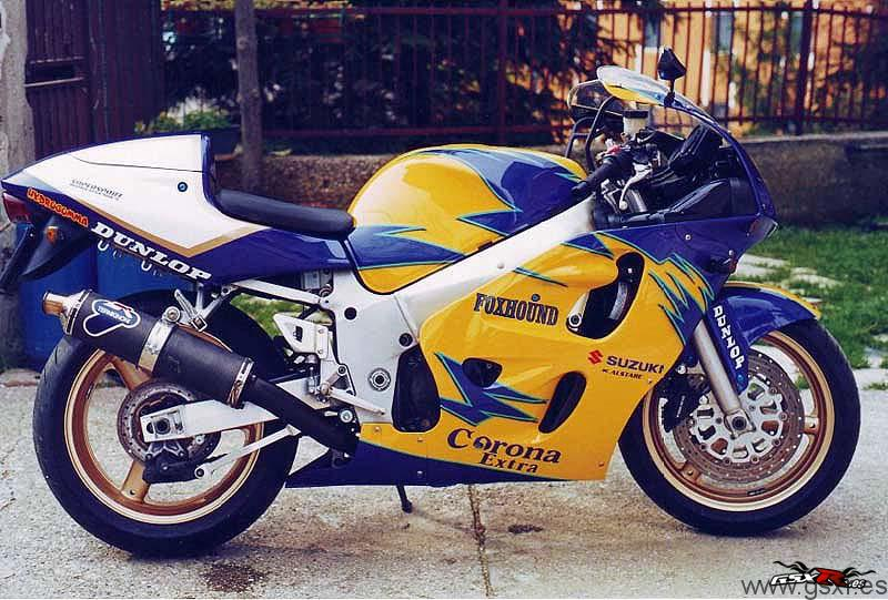 suzuki gsxr 600 corona alstare