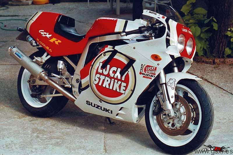 suzuki gsxr 750 lucky strike