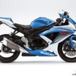 2009 Suzuki GSX-R 750 K9 Azul Tritón Metalizado / Blanco Cristal Jaspeado