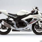 2009 Suzuki GSX-R 750 K9 Blanco Nacarado / Plata Mistic Metalizado