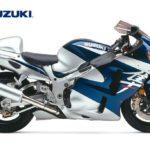 2003 Suzuki GSX-R 1300 Hayabusa K3 Plata y Azul