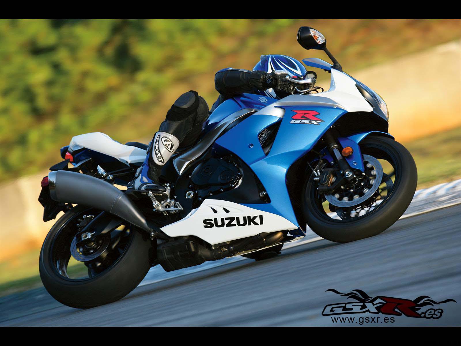 Suzuki GSX-R 1000 2009 azul blanco