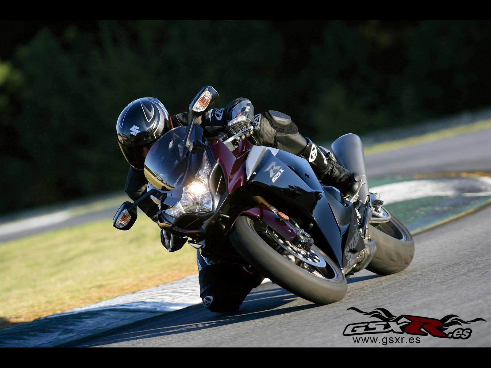 Suzuki GSX-R 1000 2009 burdeos negro