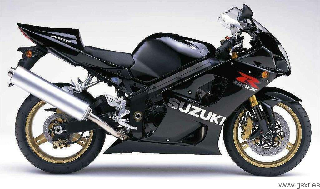 2004 Suzuki GSX-R 1000 K4 edicion limitada negra