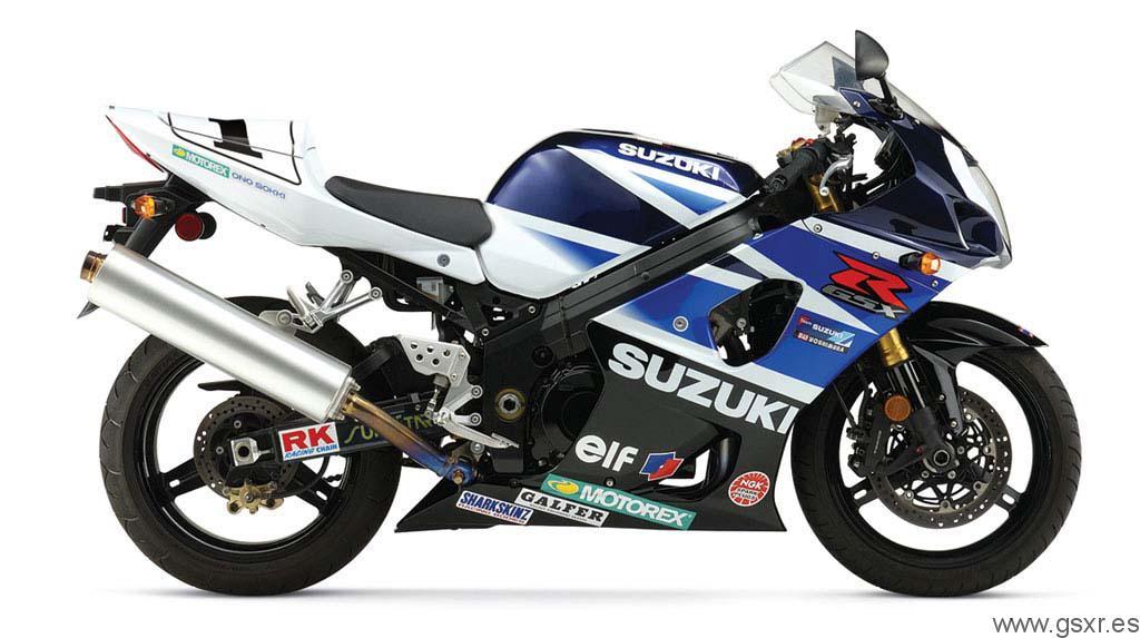 2004 Suzuki GSX-R 1000 K4 replica Mat Mladin