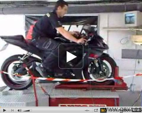 Video Suzuki GSX-R 600 K6 banco potencia