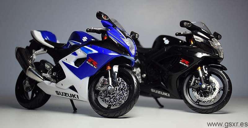 motos miniatura suzuki gsxr 600 y suzuki gsxr 1000