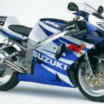 2002 Suzuki GSX-R 750 K2 Azul y Blanco