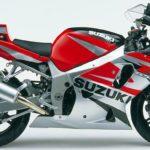 2002 Suzuki GSX-R 750 K2 Rojo, Negro y Gris