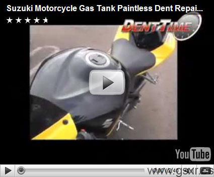 Video reparacion deposito gasolina Suzuki GSX-R
