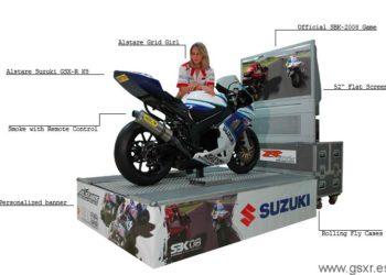 simulador de motos alstare suzuki SBK