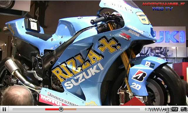 EICMA 2009: Suzuki GSV-R de Moto GP
