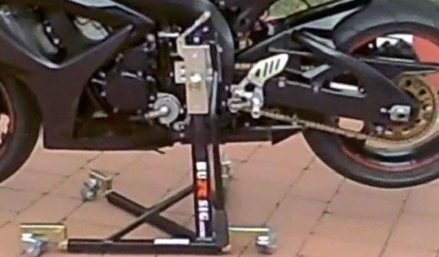 caballete central para motos
