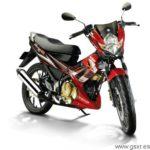 Suzuki Belang R 150 2010 rojo