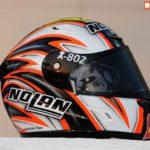 Casco Marco Melandri MotoGP