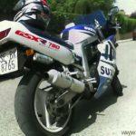 moto Suzuki GSX-R 750 1990