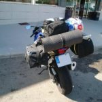 moto suzuki gsx-r equipaje