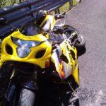suzuki gsx-r partido chasis accidente