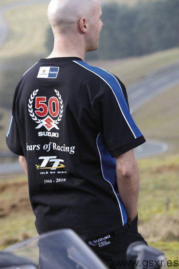 Suzuki 50 years of racing Tourist Trophy camiseta
