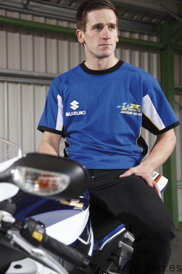 Suzuki GSX-R 25 Aniversario Camiseta chico