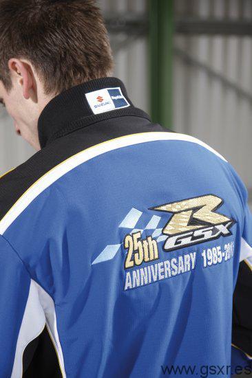 Suzuki GSX-R 25 Aniversario Camisa chico