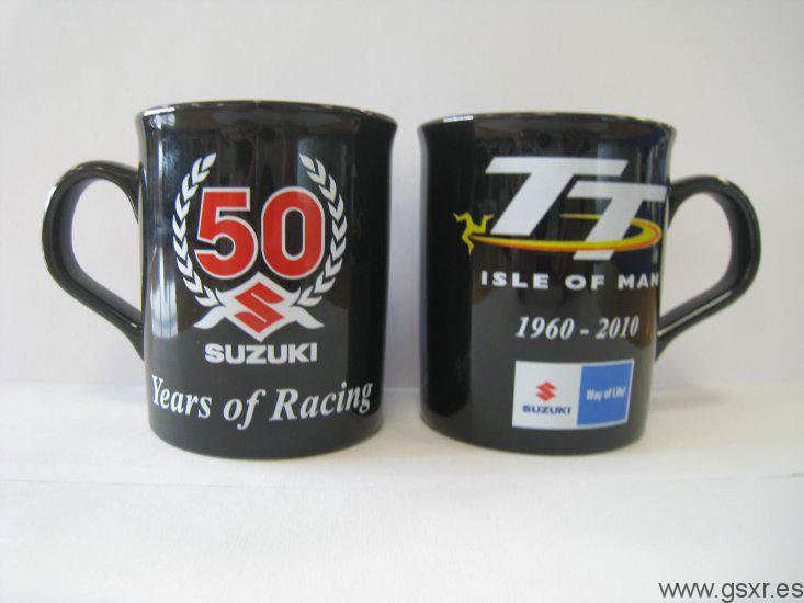 Suzuki 50 years of racing Tourist Trophy Tazas