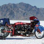 moto Suzuki GSX-R dos motores en Speed Week 2009 - Bonneville