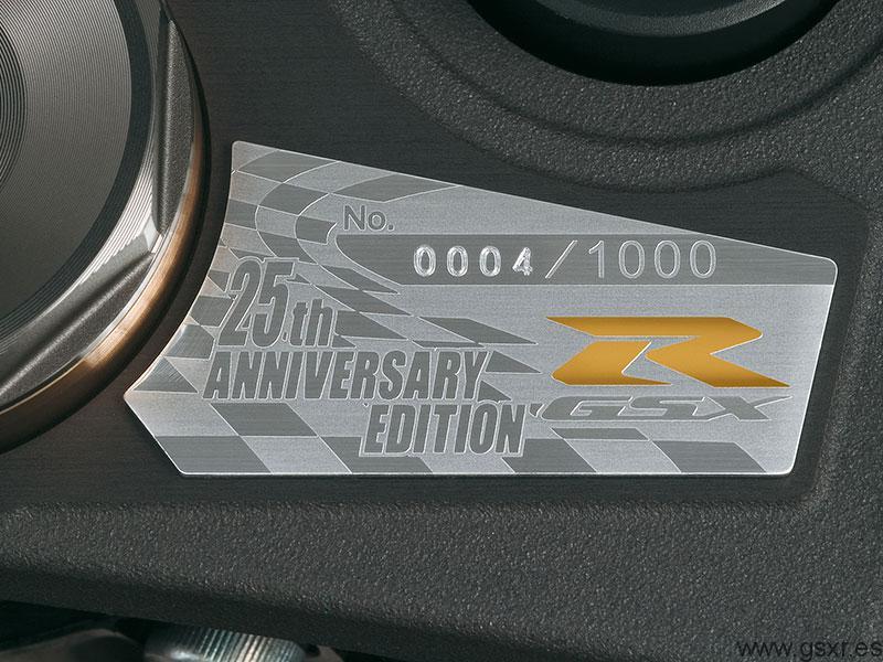Suzuki GSX-R 1000 2010 Edicion Especial 25 Aniversario