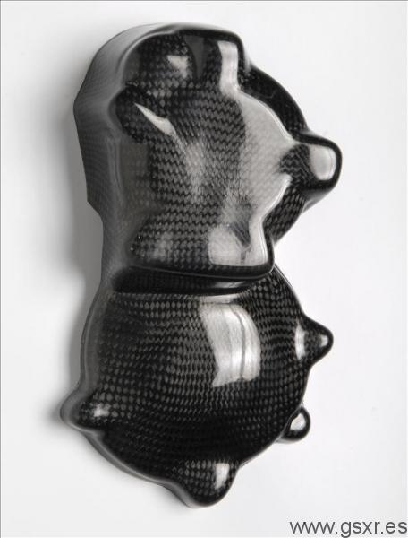 protector tapa motor carbono para suzuki gsxr