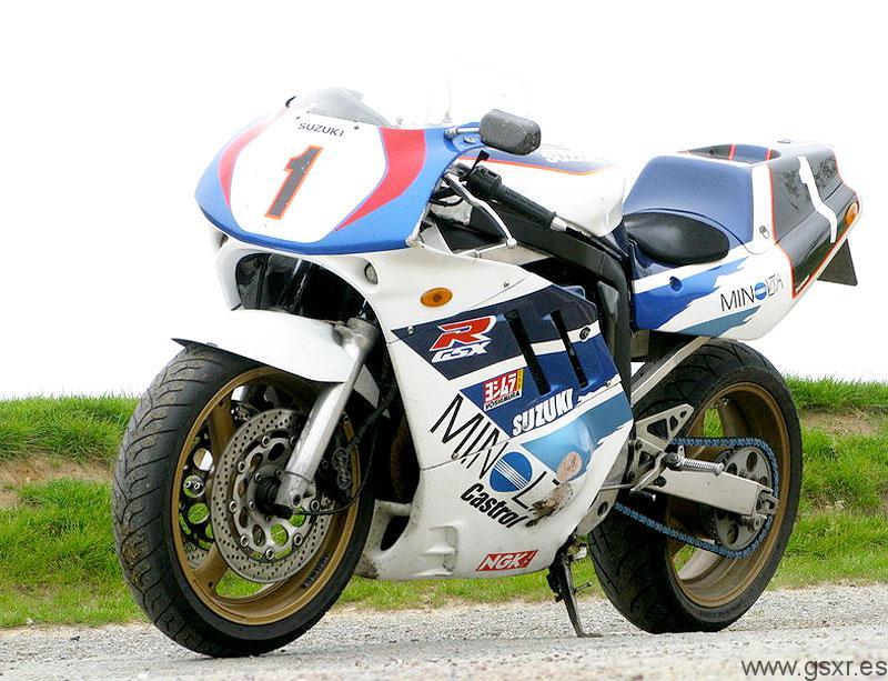 suzuki gsxr 750 1989 cafe racer