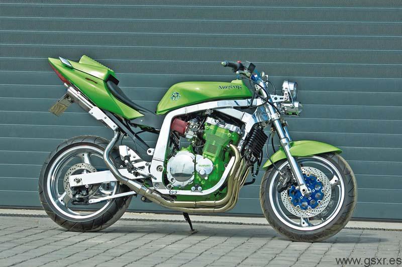 Streetfighter Suzuki GSX-R 750 1989 Diogenes
