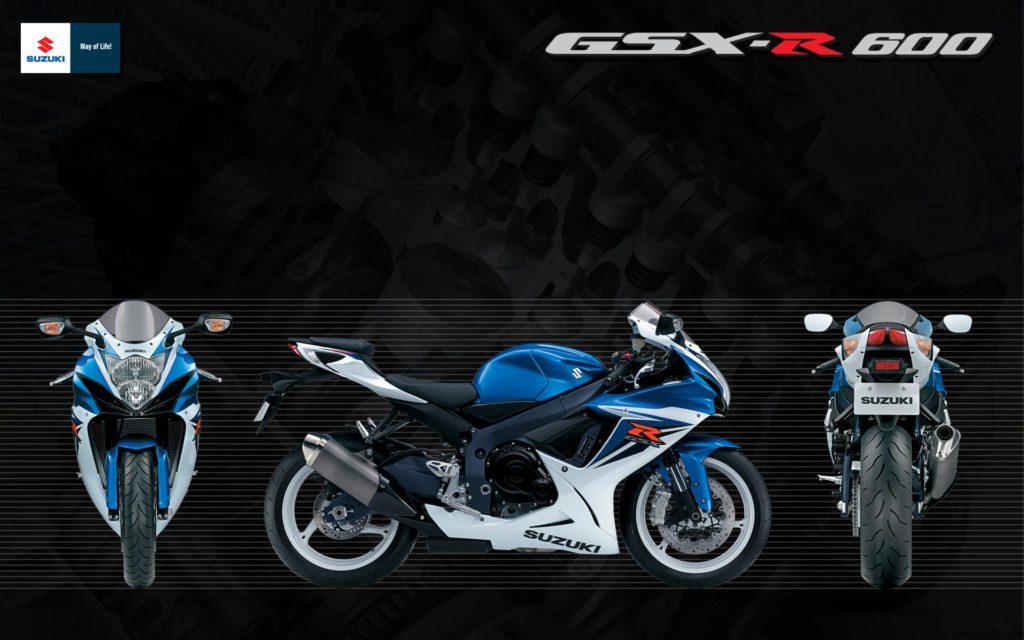 Suzuki GSX-R 600 2011 fondo de escritorio wallpaper