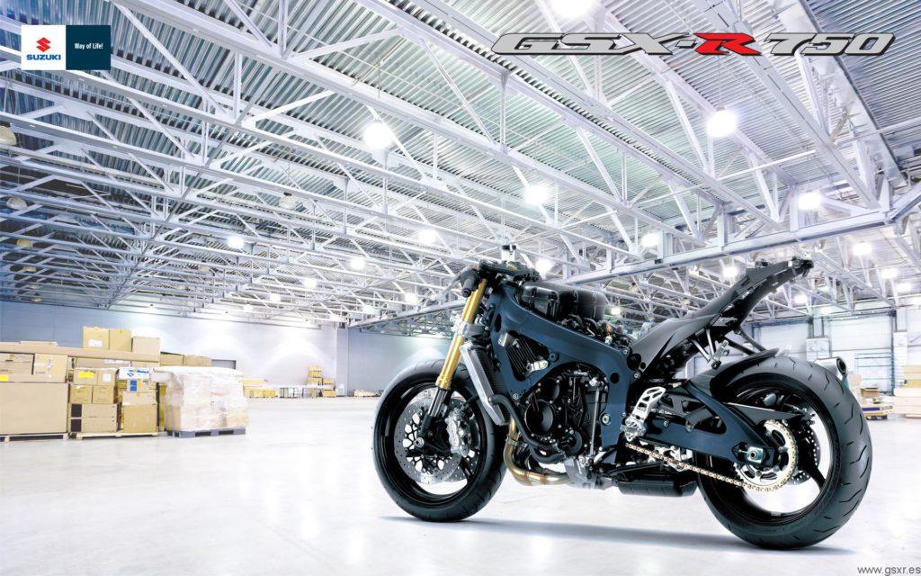 Suzuki GSX-R 750 2011 fondo de escritorio wallpaper