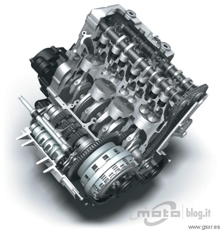 Suzuki GSX-R 600 2011 motor