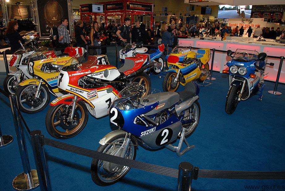Suzuki motos clasicas competicion Intermot 2010