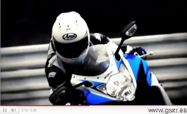 video comercial suzuki gsxr 600 2011