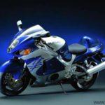 2000 Suzuki GSXR 1300 Hayabusa Azul y Plata
