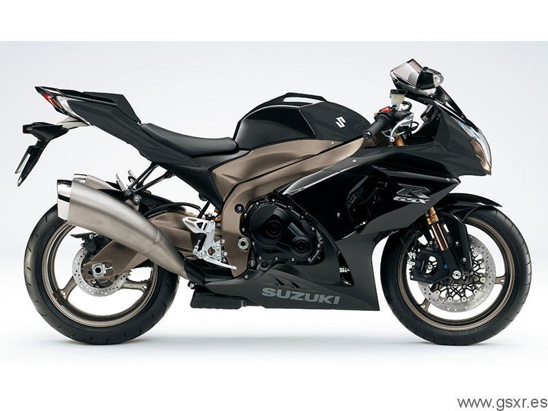Suzuki GSX-R 1000 2011 Negro Solido / Titanio Mat Metalico